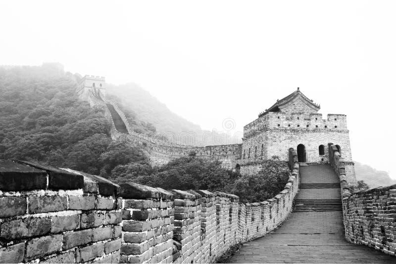 beijing antyczny wielki mur porcelanowy forteczny zdjęcia stock