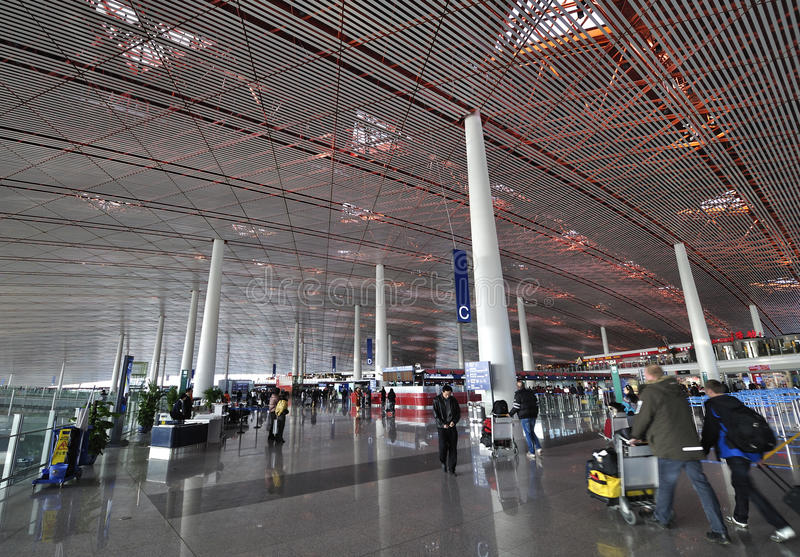Beijing Capital Airport royalty free stock images