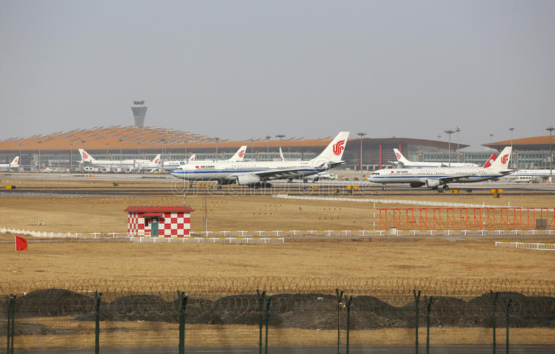 Beijing Capital Airport stock photos