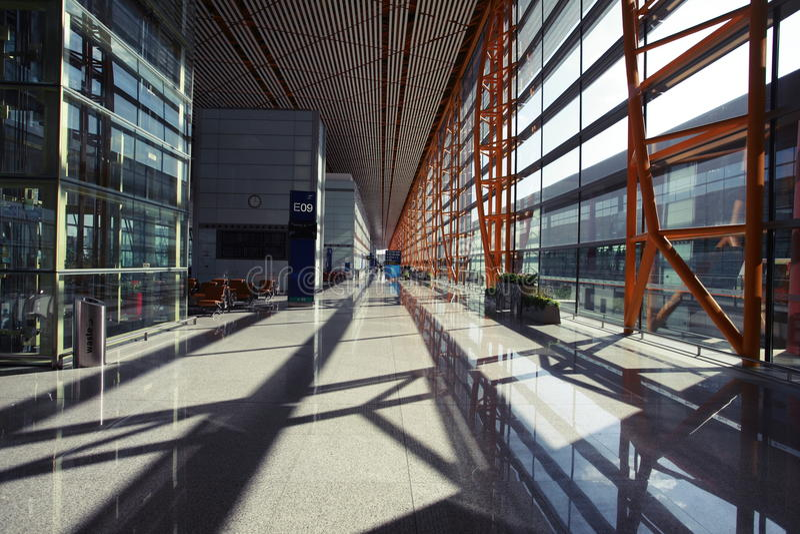 Beijing Capital International Airport royalty free stock photography