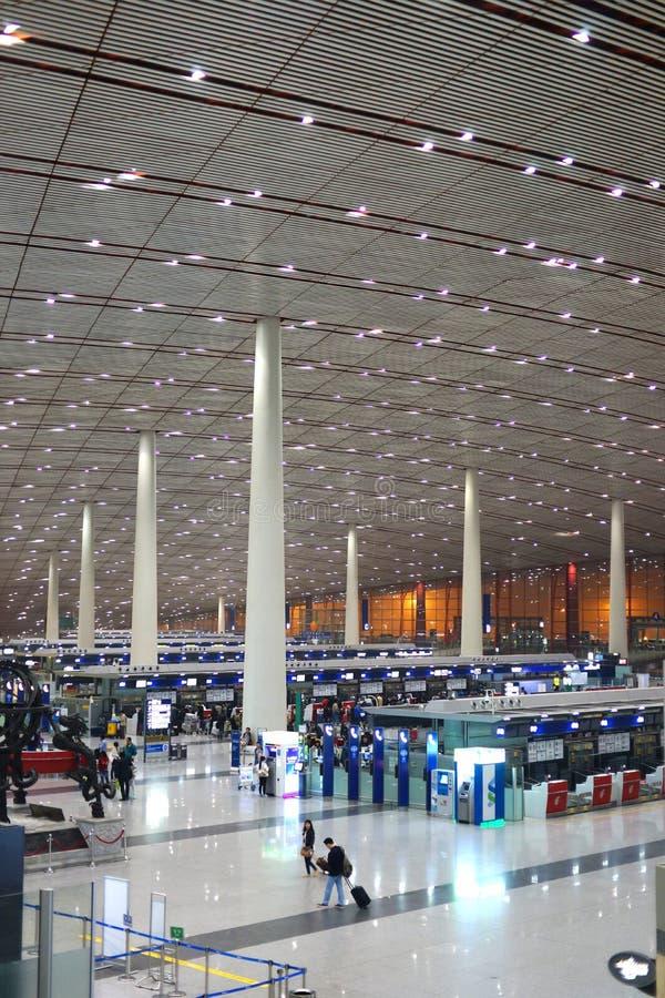 Beijing Capital International Airport royalty free stock photos