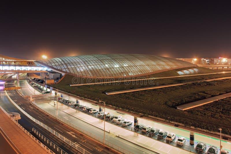 Beijing Capital International Airport, train terminal, China royalty free stock images