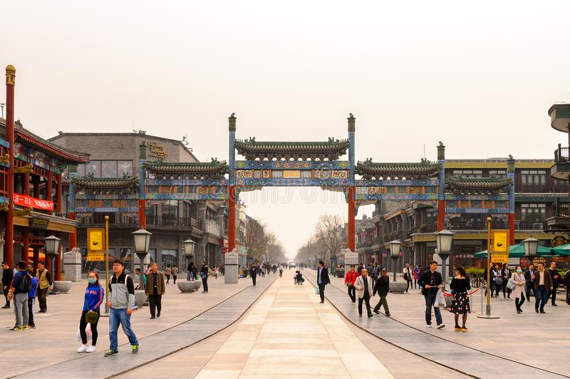 Architecture of Beijing, China royalty free stock photography