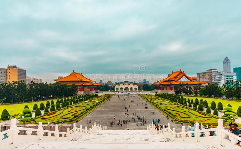 BEIJING, CHINA - April 16, 2019: Forbidden City. People visit the Forbidden city, it was the Chinese imperial palace from the Ming royalty free stock photos