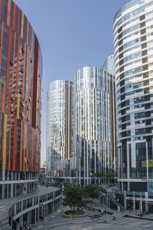 Beijing, China cityscape imagem de stock royalty free