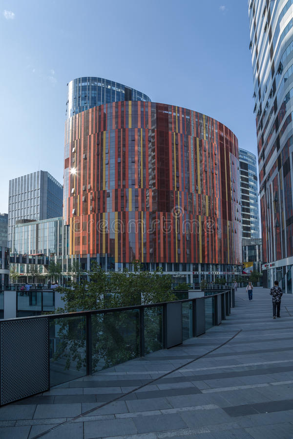 Beijing, China. Cityscape - 12. Beijing, China. Modern buildings in the city center stock image