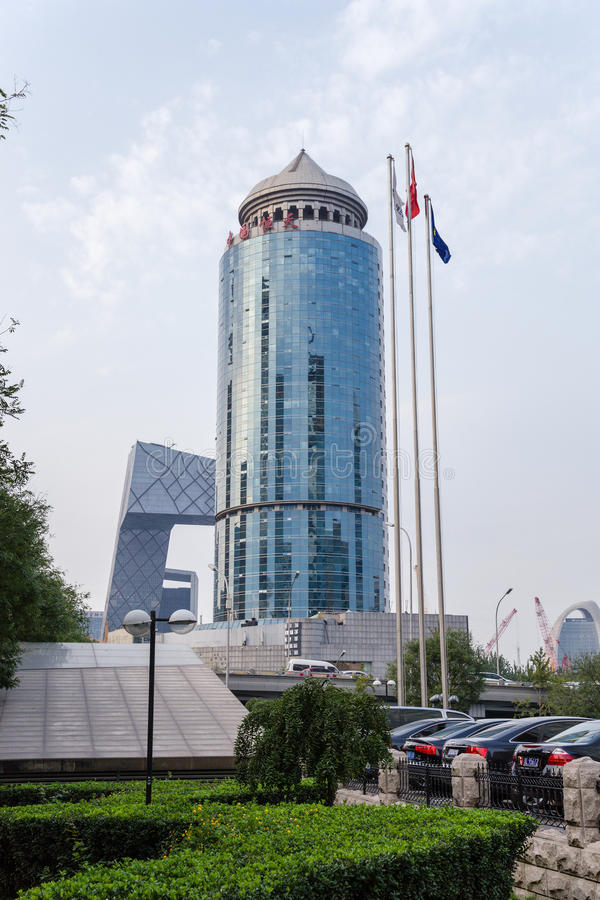 Beijing, China. Cityscape - 21. Beijing, China. Modern buildings in the city center royalty free stock photography