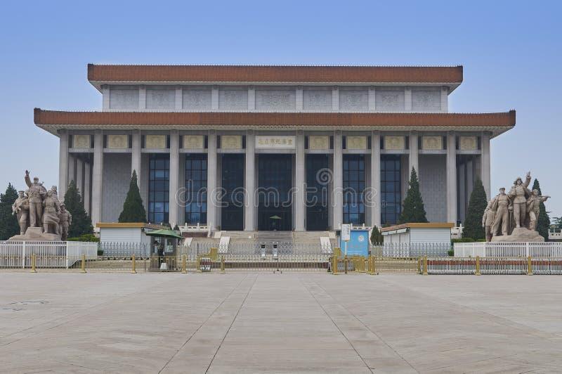 Beijing, China - June 2019: Mausoleum of Mao Zedong. Chairman Mao Memorial Hall royalty free stock photo