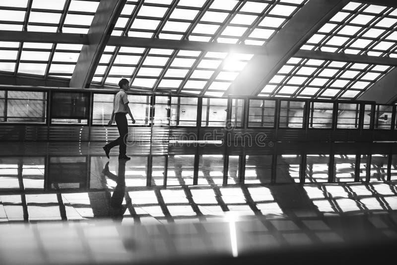 Beijing Capital Airport royalty free stock photo