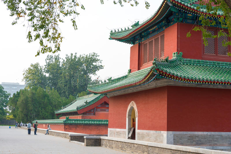 BEIJING, CHINA - Oct 18 2015: Temple of Earth (Ditan). a famous. Historic site in Beijing, China royalty free stock image