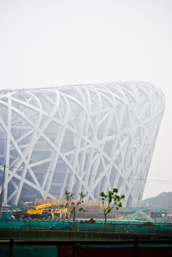 Download Beijing China Olympic Stadium Editorial Image - Image: 5878415