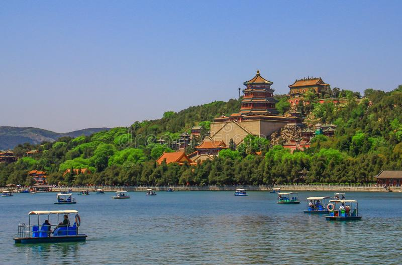 The stunning Beijing Summer Palace, China royalty free stock photography