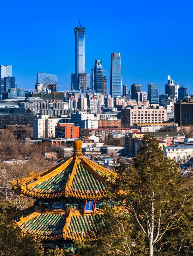 Beijing City stock image