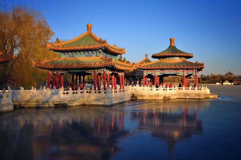 Download Beijing Cityscape-Beihai Park Editorial Photography - Image: 18586542