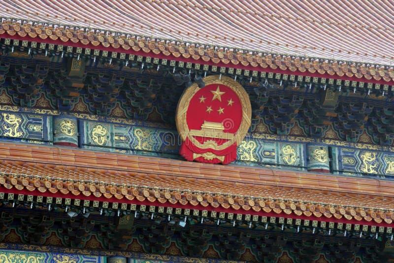 Beijing Fobidden City royalty free stock photography