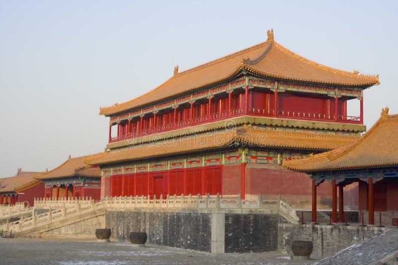 Beijing Forbidden City stock image