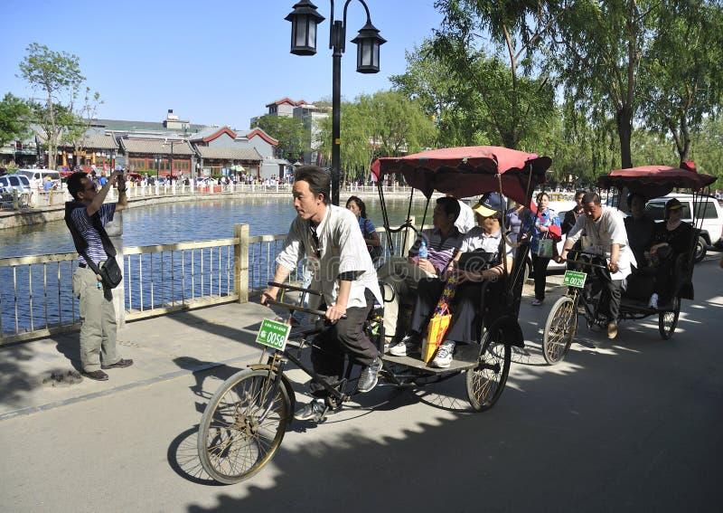 Beijing Houhai, curso de Beijing fotografia de stock royalty free