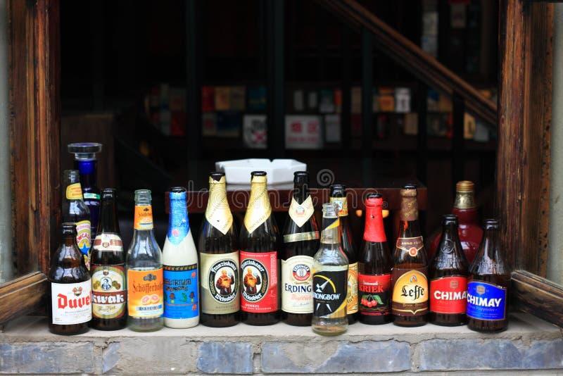 Beijing hutong bar stock photography