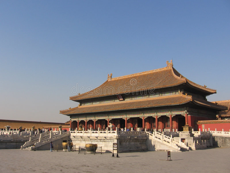 beijing imperiału pałacu obrazy royalty free