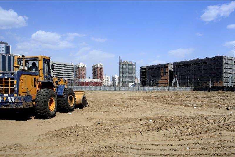 beijing konstruktionslokal arkivbilder