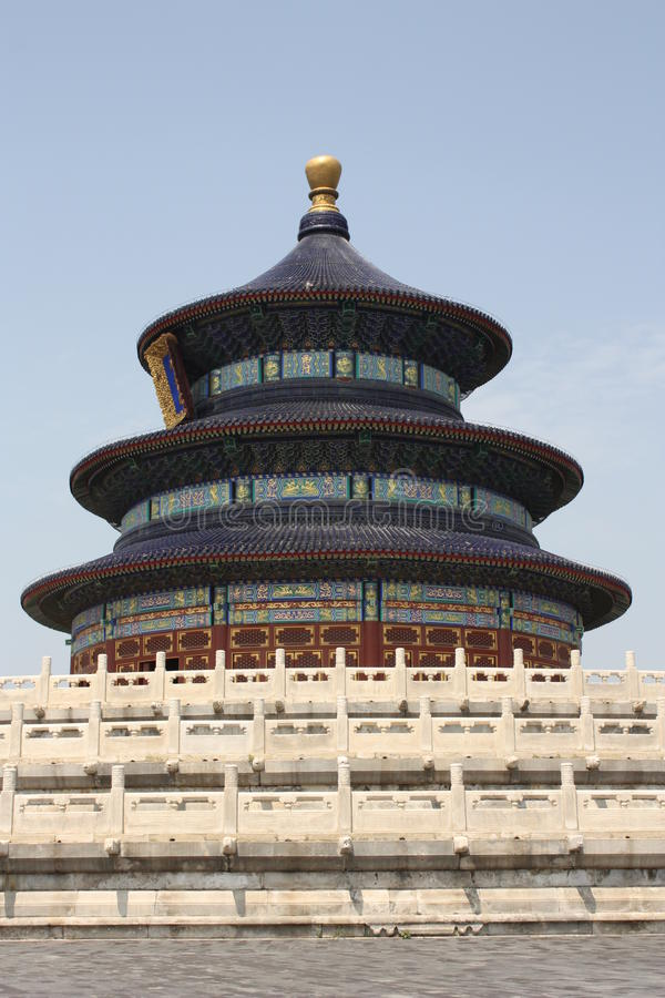 Download Beijing Landmark - Temple Of Heaven Stock Image - Image of figures, fretted: 17161437