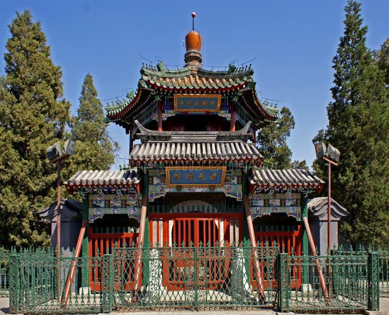 Beijing mosque royalty free stock photo