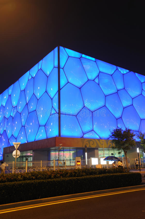 Free Beijing National Aquatics Center - Water Cube Stock Photography - 21111742