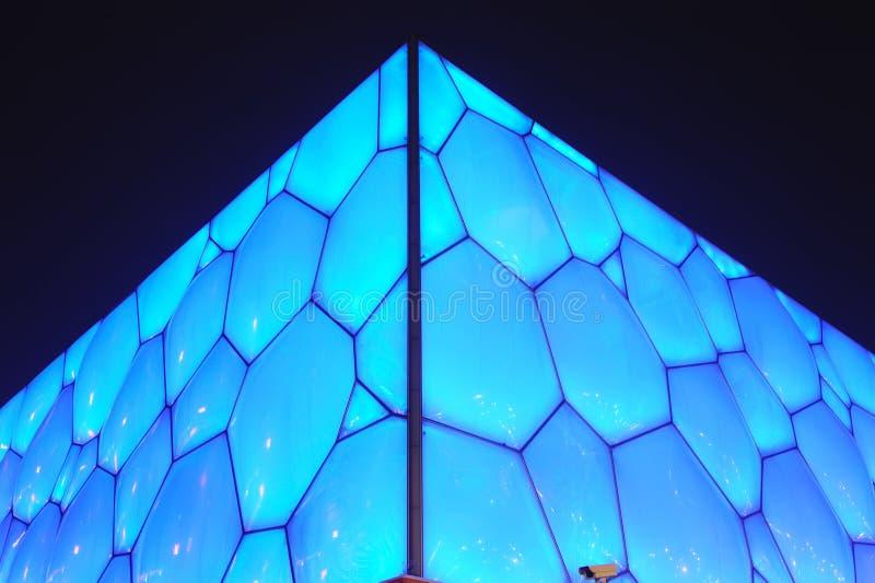 Beijing National Aquatics Center - Water Cube stock photography