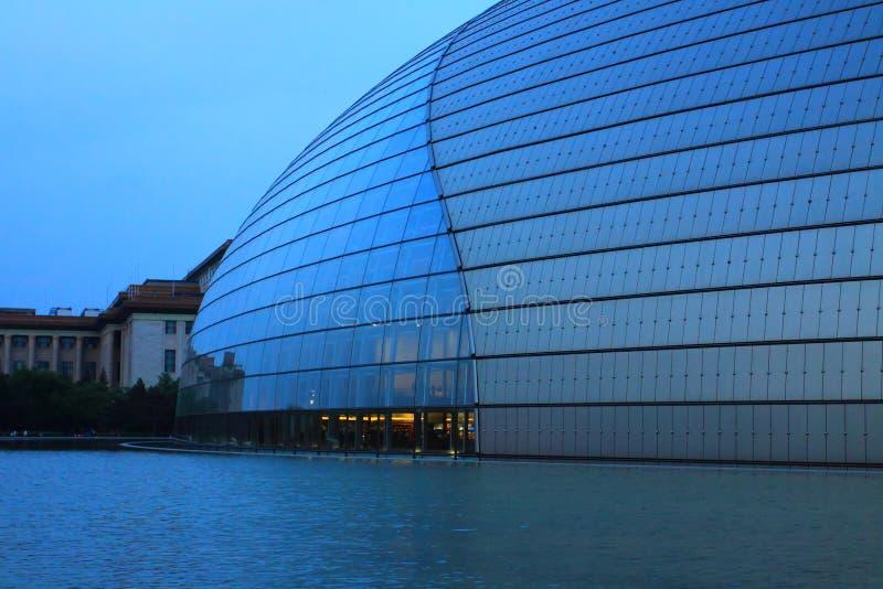 Beijing national grand theatre stock image