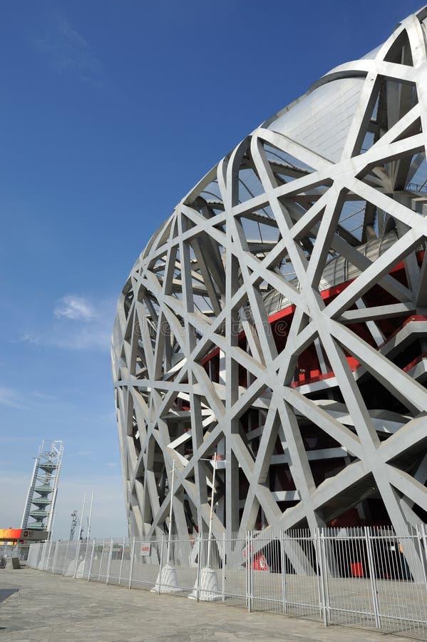 The Beijing National Stadium stock photo