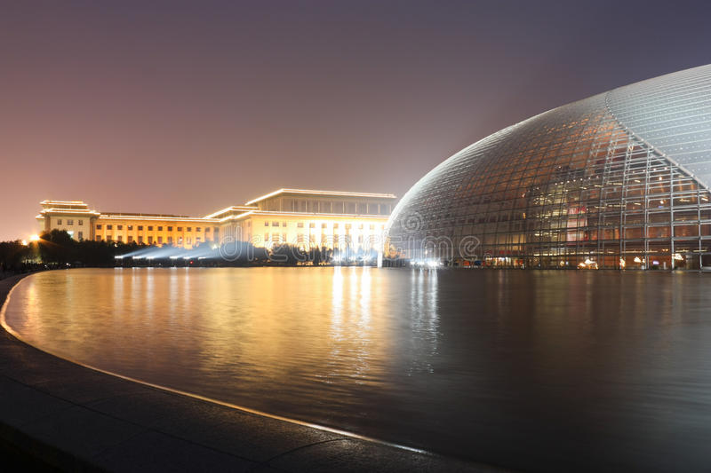 Download Beijing National Theatre stock photo. Image of landmark - 22914468