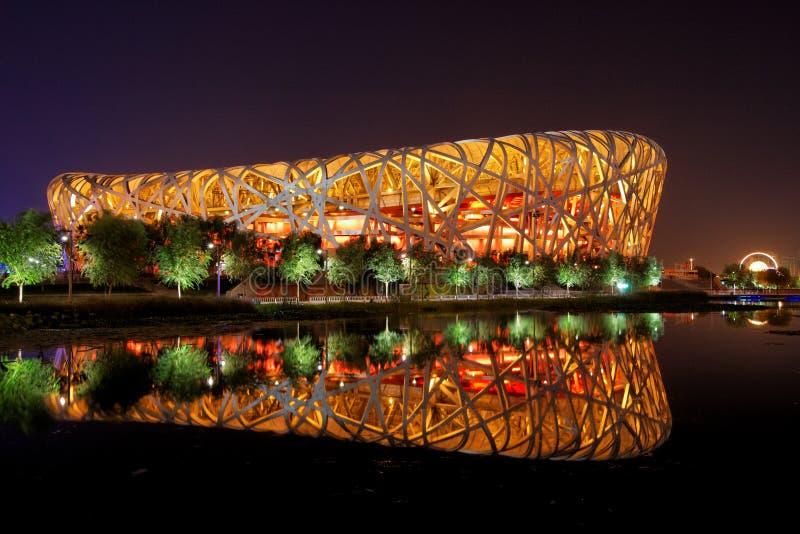 beijing nationalstadion royaltyfri fotografi