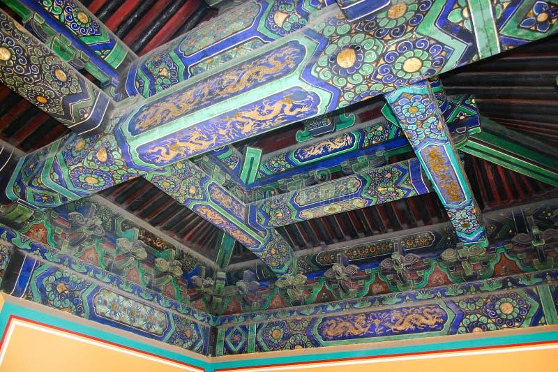 beijing nieba świątynia fotografia stock