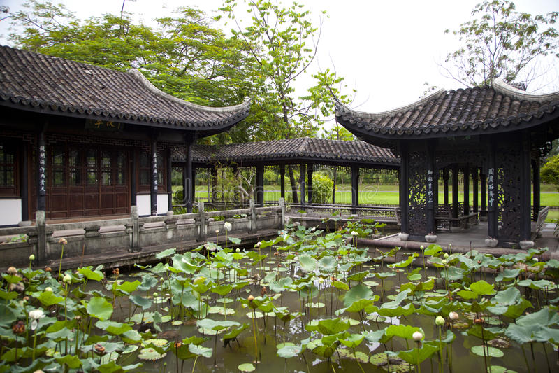 beijing ogrodowy pałac lato obraz royalty free