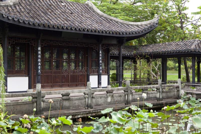 beijing ogrodowy pałac lato zdjęcie royalty free