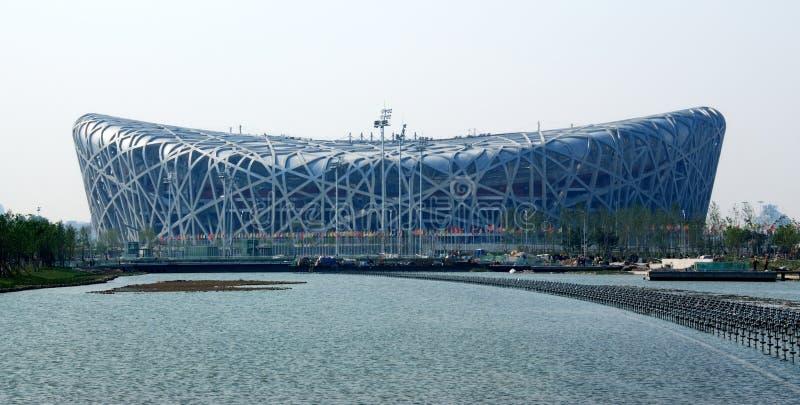 Download Beijing Olympic stadium editorial stock photo. Image of scene - 5417263