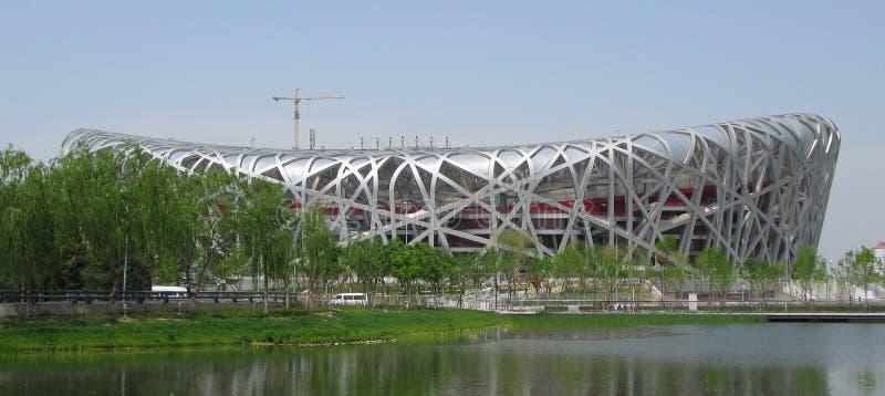 Download Beijing Olympic Stadium editorial image. Image of steel - 5569735