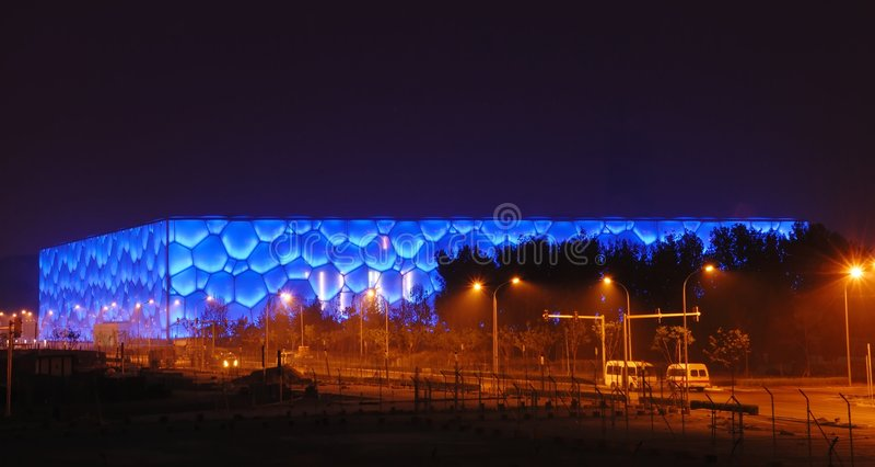 Download Beijing olympic stadium editorial image. Image of host - 5693970