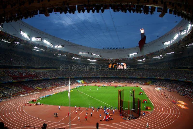 Download Beijing Olympic Stadium Bird Nest Editorial Image - Image of panorama, olympic: 13094570
