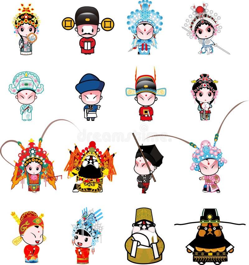 Free Beijing Opera Cartoon Stock Images - 7015054