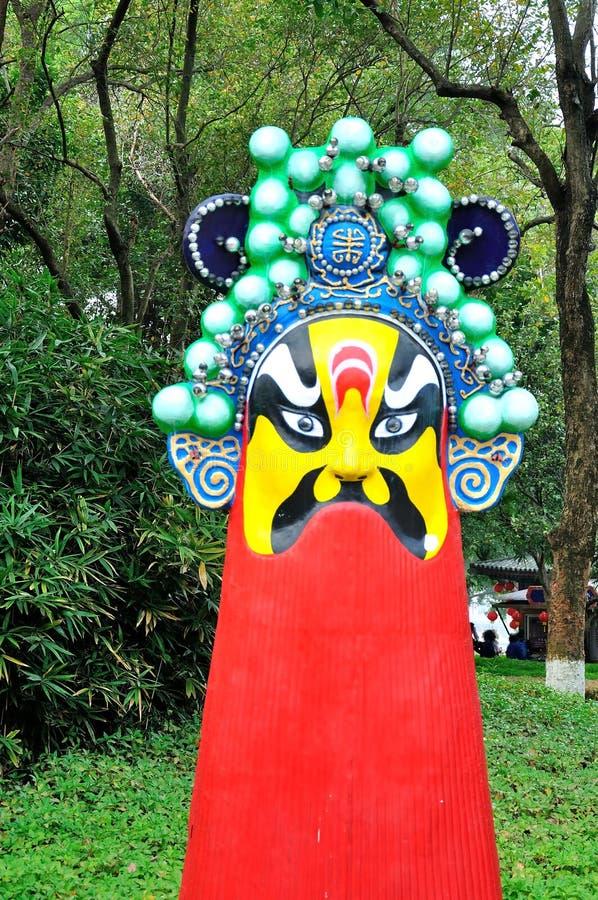 Beijing opera mask royalty free stock images