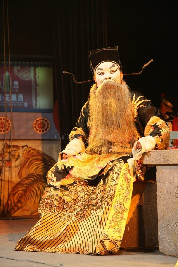beijing opera show royalty free stock photography