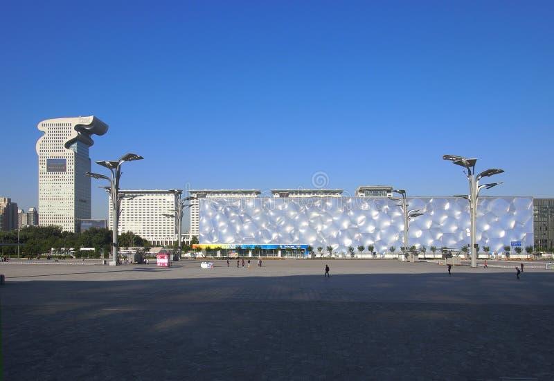 Download Beijing Pangu Plaza Hotel,Water Cube Editorial Stock Photo - Image: 21256063
