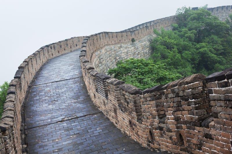 beijing porcelany wielki mur obrazy stock