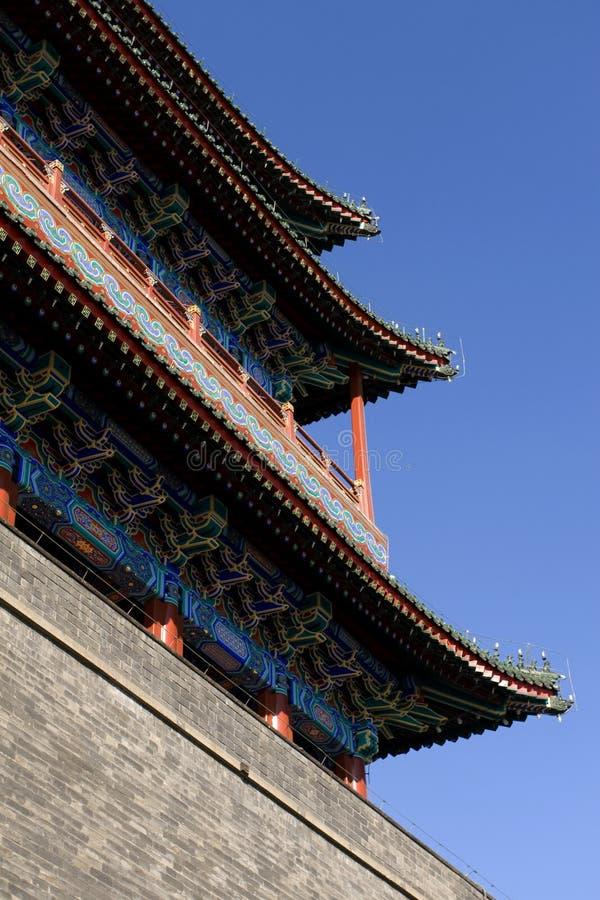 Beijing - porta dianteira imagem de stock