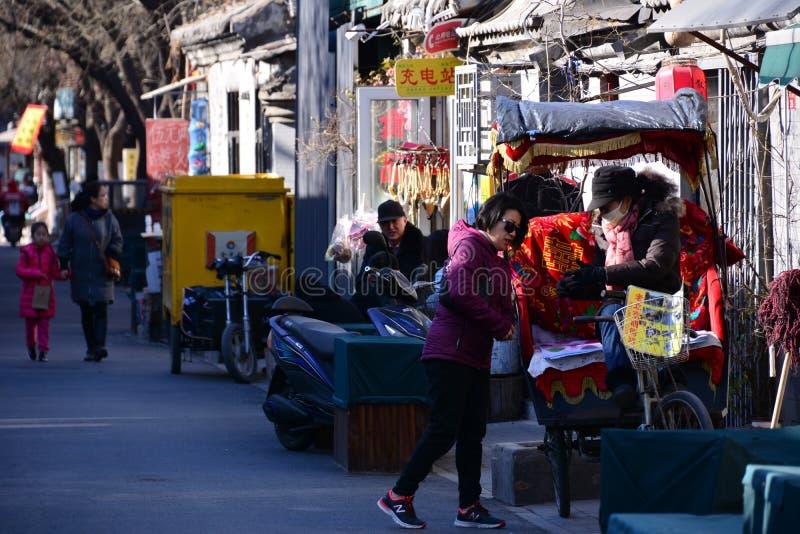 Beijing rickshas royalty free stock photography