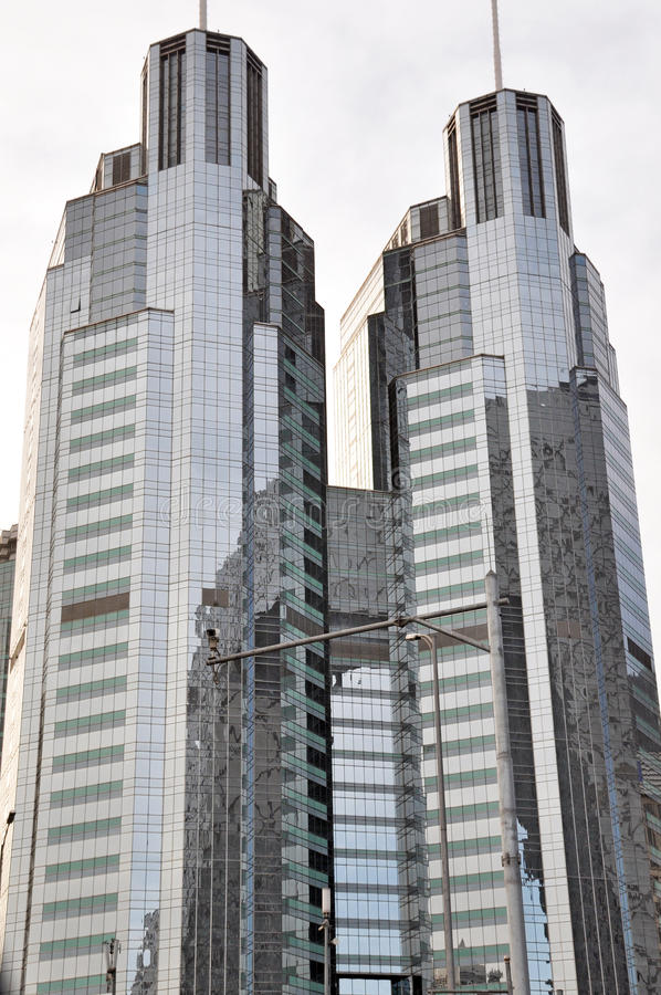 Beijing s modern buildings it located in beijing s cbd area it is a large business center stock image