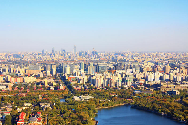 Beijing scenery royalty free stock photos