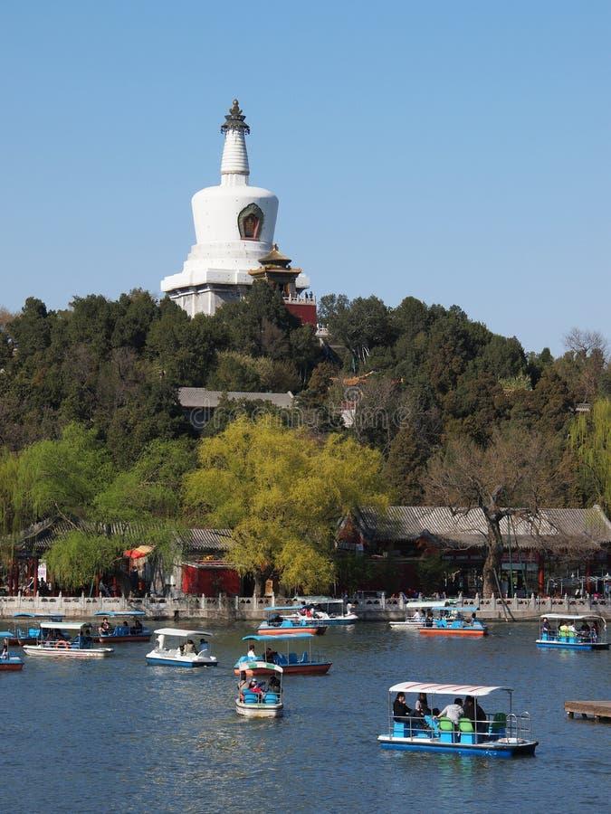 Download Beijing Skyline,Beihai Park, Editorial Stock Photo - Image of traditional, ancient: 24241583