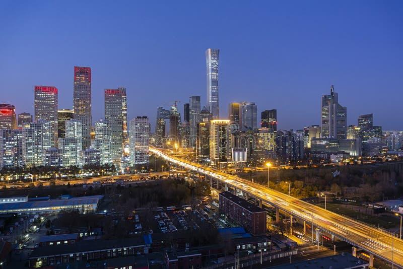 Beijing Skyline fotografia stock libera da diritti